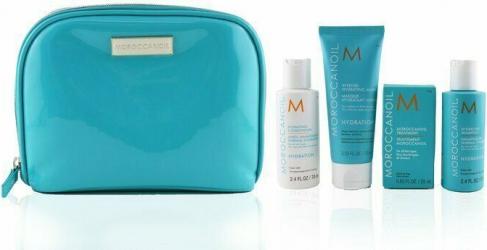 Moroccanoil Set pentru par Moroccanoil Hydrate Sampon 70ml + Balsam 70ml + Masca 75ml + Tratament 25ml