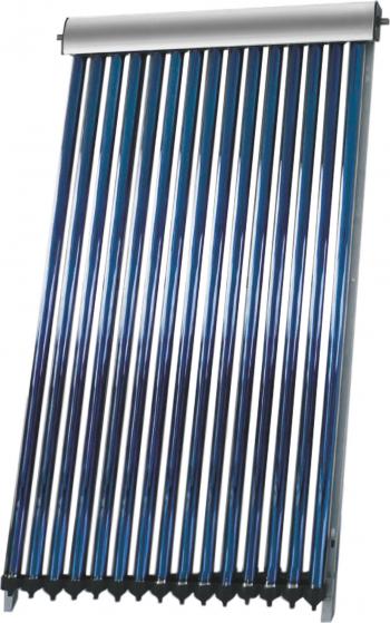 Pachet Economic Sistem solar presurizat panou Fornello 10 Tuburi Heat Pipe pompa 25-60 controller vas expansiune antigel supapa 1/2