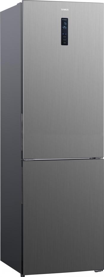 Combina frigorifica Samus SCX482NF 347 L Clasa F NoFrost Inox Frigidere Combine Frigorifice