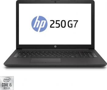 Laptop HP 250 G7 Intel Core (10th Gen) i5-1035G1 256GB SSD 8GB FullHD DVDRW Dark Ash Silver Laptop laptopuri