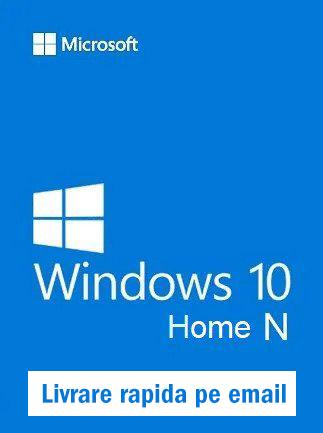 Licenta Windows 10 Home N Retail Permanenta