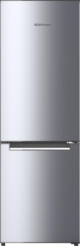 Combina frigorifica Albatros CFX391 315 L Clasa F Termostat reglabil Inox Frigidere Combine Frigorifice