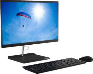 Desktop All-In-One Lenovo V30a 22IML Intel Core (10th Gen) i3-10110U 256GB SSD 8GB FullHD Mouse+Tastatura Calculatoare Desktop