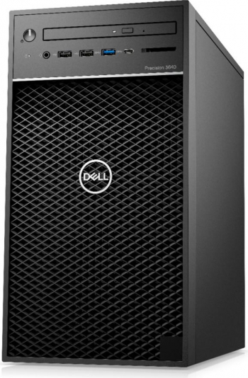 Desktop Dell Precision 3640 MT Intel Core (10th Gen) i7-10700K 512GB SSD 32GB Quadro P2200 5GB Win10 Pro DVD-RW Mouse+Tastatura Negru