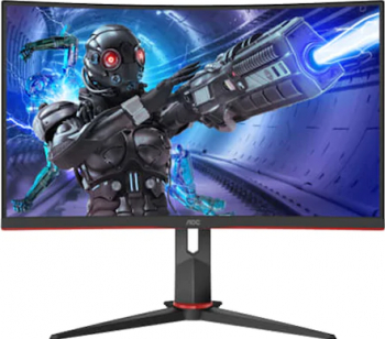 Monitor Curbat Gaming LED 27 AOC C27G2ZU/BK VA Full HD FreeSync Premium 240Hz 0.5 ms Negru