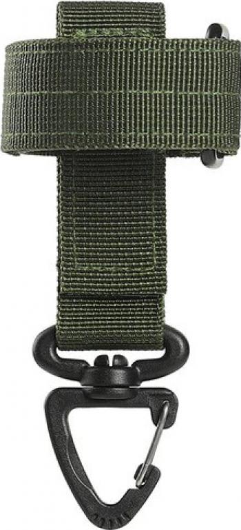 Accesoriu tactic de prindere camping carlig de siguranta anti-pierdere manusi coarda de catarat chei 23 x 13 x 2 cm kaki