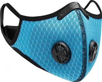 Masca de protectie textila cu filtru detasabil reutilizabila Neo Filter Bleu Masti chirurgicale si reutilizabile