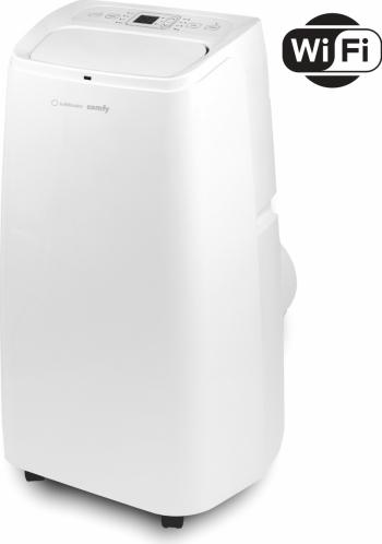 Aparat de aer conditionat portabil Turbionaire Comfy 12.000 BTU Clasa A+ Eco Smart life App WiFi R290 Alb Aparate de Aer Conditionat