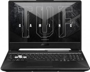 Laptop Gaming ASUS TUF F15 FX506HM Intel Core (11th Gen) i7-11800H 1TB SSD 16GB RTX 3060 6GB FullHD 144Hz Tastatura iluminata Graphite Black