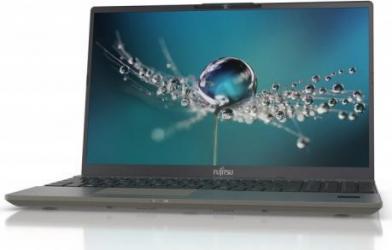 Laptop Fujitsu LIFEBOOK U7411 Intel Core (11th Gen) i7-1165G7 512GB SSD 16GB Iris Xe FullHD FPR Win10 Pro Tast. ilum.