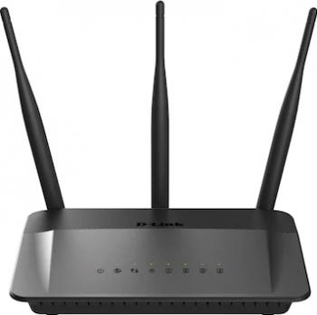 Router Wireless D-Link DIR-809 dual-band AC750 Negru