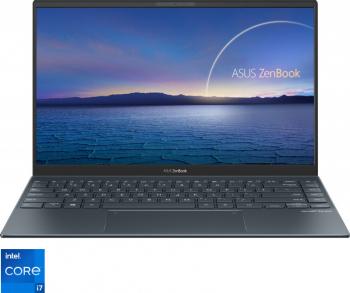 Ultrabook ASUS Zenbook 14 UX425EA Intel Core (11th Gen) i7-1165G7 512GB SSD 16GB Intel Iris XE Graphics FullHD T.Ilum. Pine Grey