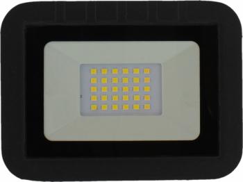 Proiector LED 20W 1600lm IP65 4000K negru Well Corpuri de iluminat