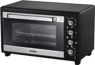 Cuptor Electric Zass ZEO 48 CR Cu Convectie Si Rotisor 1800W 48L Negru Cuptoare Electrice