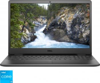 Laptop Dell Vostro 3500 Intel Core (11th Gen) i3-1115G4 256GB SSD 4GB HD Linux Negru