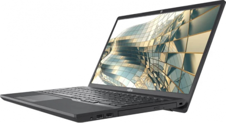 Laptop Fujitsu Lifebook A3510 Intel Core (10th Gen) i3-1005G1 256GB SSD 8GB FullHD DVD-RW Negru Laptop laptopuri