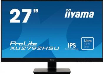 Monitor LED 27 Iiyama ProLite XU2792HSU-B1 IPS Full HD 75Hz 4ms Negru
