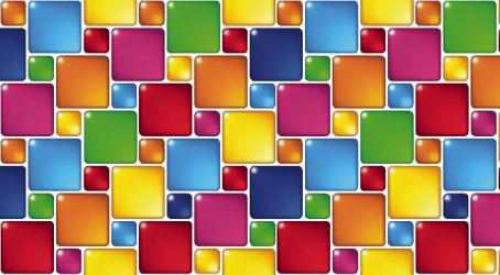 Panou bucatarie protectie plita aragaz antistropire print UV model Abstract Patratele MultiColore 600x600 mm Placi decorative