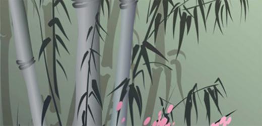 Panou bucatarie protectie plita aragaz antistropire print UV model Frunzis 600x500 mm