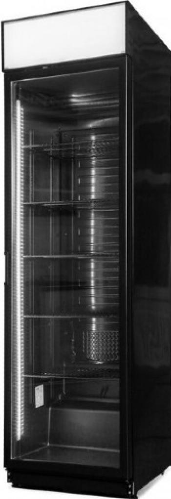 Vitrina frigorifica Snaige CD40DM-S3JJ1E 360 l control mecanic H 202 cm neagra