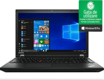 Laptop Lenovo ThinkPad L540 Intel Celeron 2950M 2.00GHz 4GB DDR3 500GB HDD DVD 15.6 Inch Win10 Pro Refurbished Laptopuri Renew & Refurbished