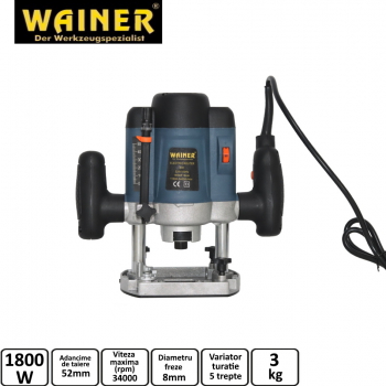 Freza verticala 1800W WAINER ER1
