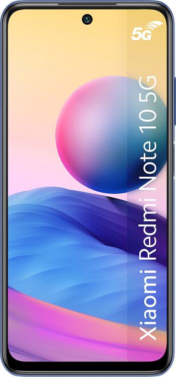 Telefon mobil Xiaomi Redmi Note 10 128GB Dual SIM 5G Nighttime Blue Telefoane Mobile