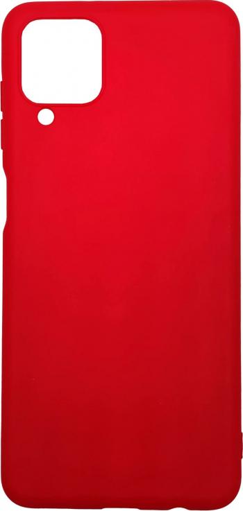 Husa Samsung Galaxy A12 model Mat Silicon Antisoc TPU Viceversa Rosu
