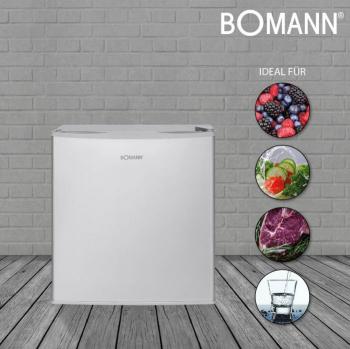 Frigider minibar Bomann KB 340.1 IX volum 45 l compact consum redus decongelare automata control temperatura picioare reglabile Mini Frigidere