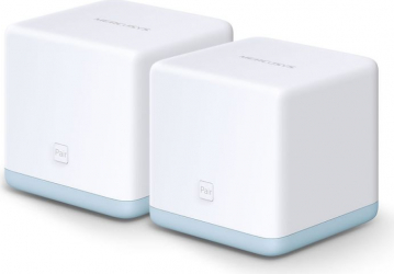 Router Mesh Mercusys Wireless AC1200 1200 Mbps LAN WAN 2.4 GHz 5 GHz Halo S12 2 buc Halo S12 2-pack