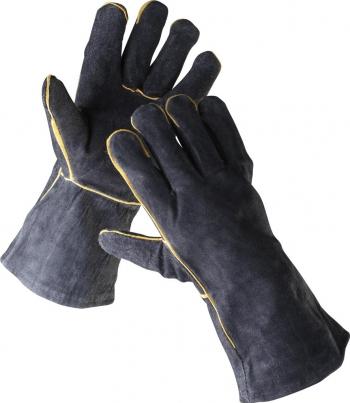 SANDPIPER - Manusi de protectie pentru sudori negre Cerva 11 Negru