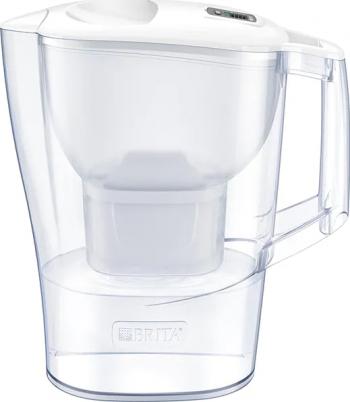 Cana Filtranta Brita Aluna 2 4 L - 3 filtre Maxtra+ Starter Pack Alb - Transparent