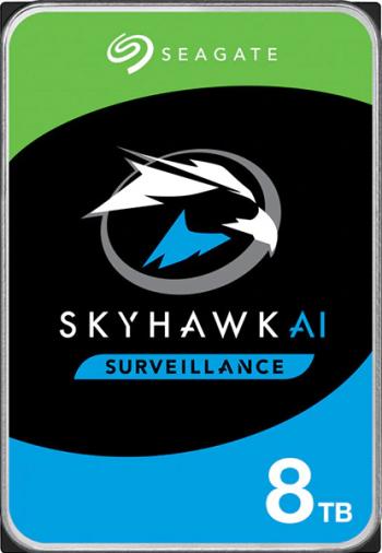 HDD SEAGATE SkyHawk AI 8TB SATA3 256MB
