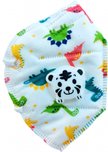 Masca faciala pentru copii cu supapa de expirare ambalata individual Masti chirurgicale si reutilizabile