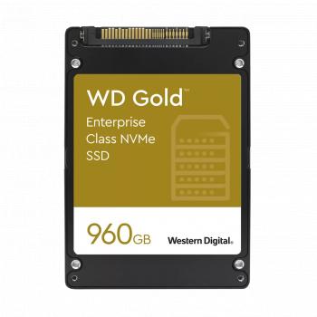 SSD Server Western Digital Gold Enterprise 960GB PCIe Gen 3.1 1x4 NVMe 2.5inch U.2