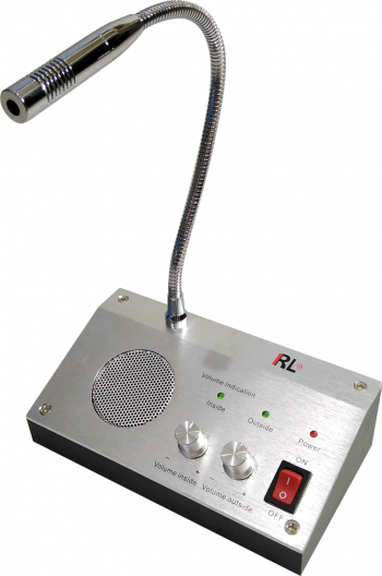 Microfon tip interfon de ghiseu pentru casierii banca RL-9908