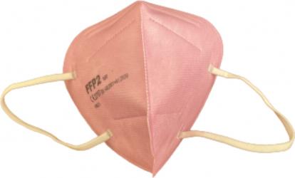 Set 5 Masti cu 5 straturi de protectie standard KN95 / FFP2 culoare roz BFE95
