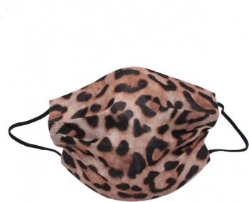 Set de 10 de masti faciale de unica folosinta fashion model animal print