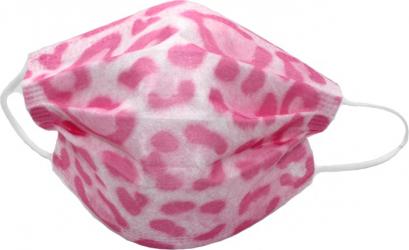 Set de 10 de masti faciale de unica folosinta fashion model multicolor roz