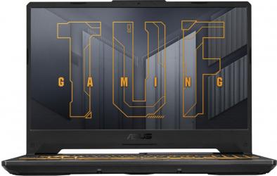 Laptop Gaming ASUS TUF F15 FX506HC Intel Core (11th Gen) i5-11400H 512GB SSD 8GB Geforce RTX 3050 4GB FullHD Endless RGB Eclipse Gray