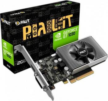 Placa video Palit GeForce GT 1030 2GB DDR4 64-bit