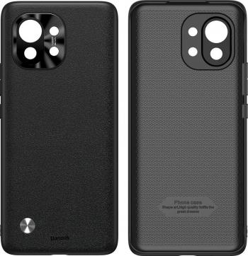 Husa Baseus Alloy Leather Xiaomi Mi 11 cu protectie camera
