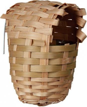 Trixie Cuib Exote Bambus 9x10 cm 5600 Accesorii si jucarii animale
