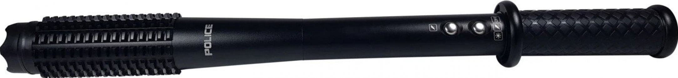 Lanterna cu Led tip baston si electrosoc din aluminiu Police HY-1118B