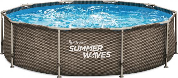 Piscina cadru metalic Summer Waves 305x76 cm 4.800 litri cu pompa de filtrare
