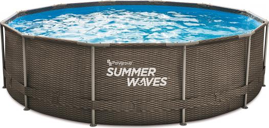 Piscina cadru metalic Summer Waves 366x91 cm 8.000 litri cu pompa de filtrare