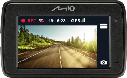 Camera video auto Mio MiVue 733 refurbished WIFI GPS incorporat Full HD senzor G Camere Video Auto