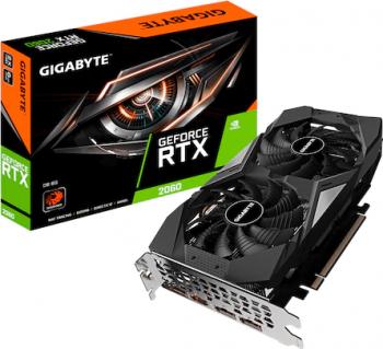 Placa video Gigabyte GeForce RTX 2060 D6 6GB GDDR6 192-bit Rev 2.0