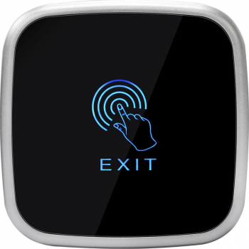 Buton de iesire E-LOCKS Touch aplicat gri din plastic