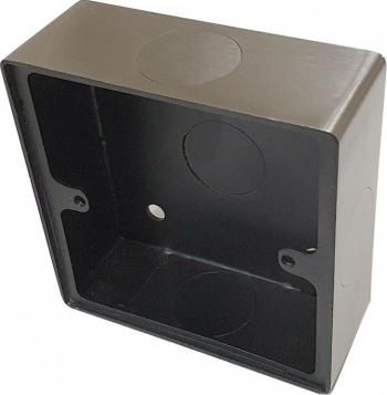 Cutie metalica pentru butoane de iesire din inox E-LOCKS